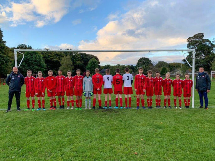 U14s sponsored by The Provincial Grand Lodge of Yorkshire West Riding