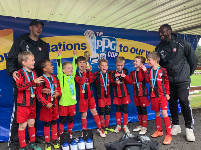 HTJFC Under 7's win the PPG Cup