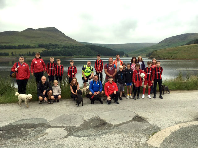 Under 13s score a Dovestone Hat-trick with fundraiser