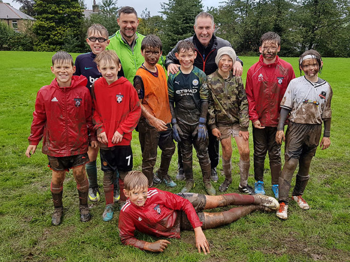 Heavy rain couldn't stop the Under 11's train
