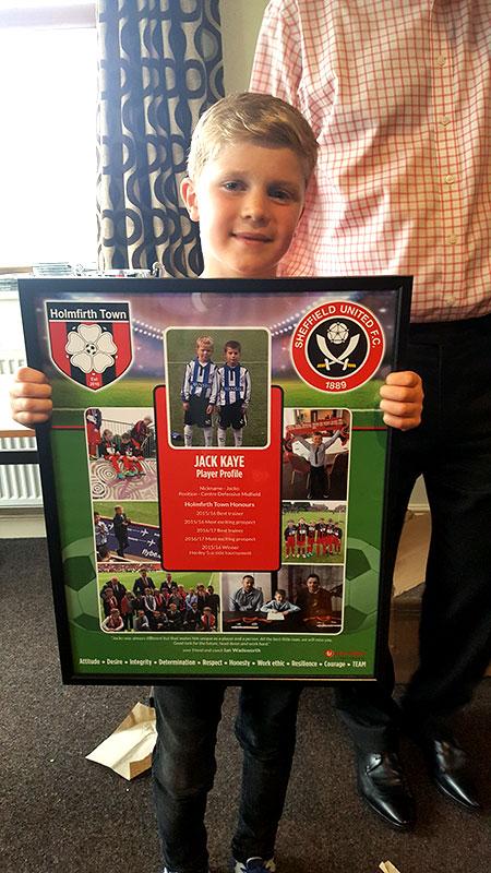 Jack Kaye AKA Jacko : Sheffield United Academy