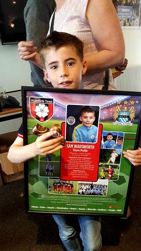 Sam Wadsworth AKA Lionel / Aguero : Manchester City Academy