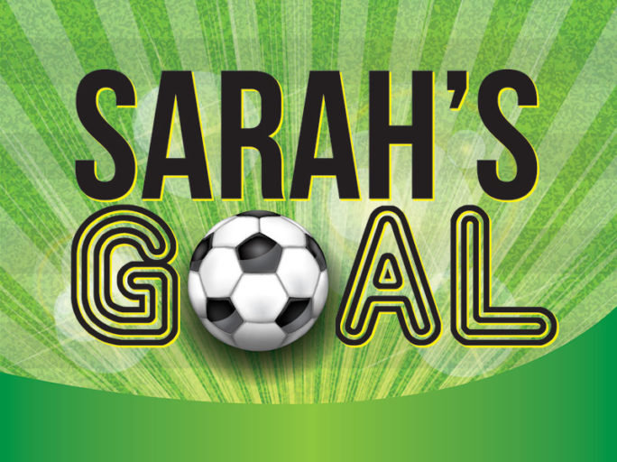 We're proud to support Sarah's Goal charity. Can you help?