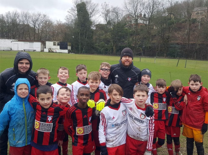 Golden Goal ends Under 10s match during storm Erik