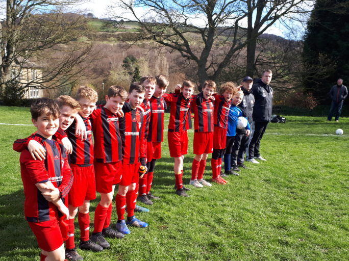 "A perfect gift to the Mums on Mother's Day as HTJFC U12's secure promotion to ""Division 1"""