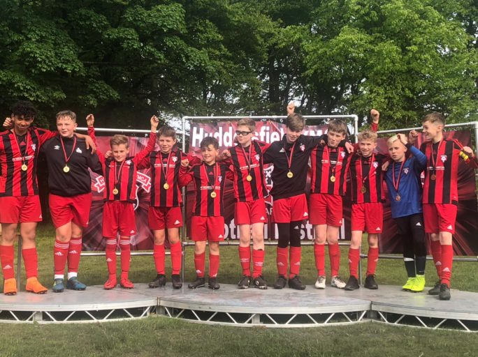 U12's finalists at YMCA Football Festival 2019 – Sunday 19th May
