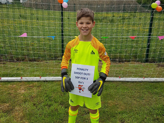 Finlay makes over 200 saves for dementia charities