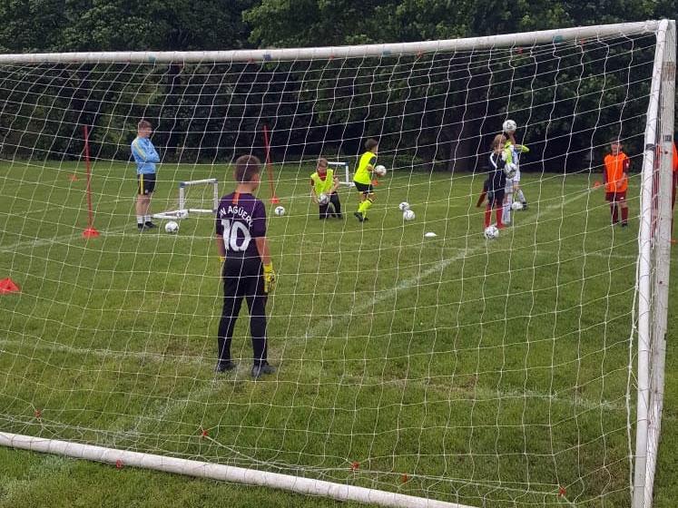 Penalty shootout at half-term-training camp