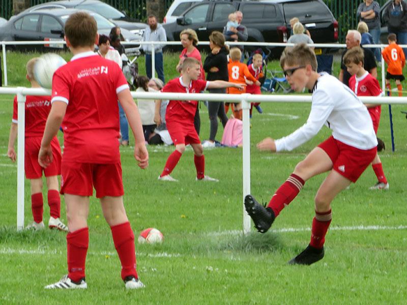 Corner, Drighlington Football Gala