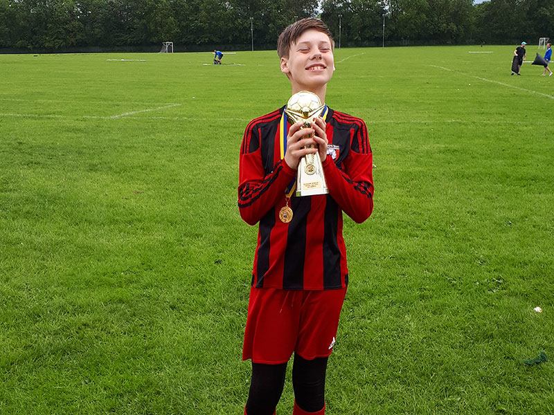 Under 12s win Gildersome 6-a-side tournament