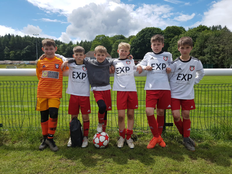 Under 10's finish 5th in their PPG Cup group